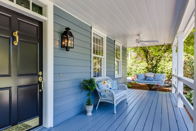 beautiful home being sold in a seller's market